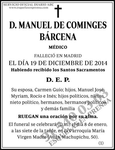 Manuel de Cominges Bárcena